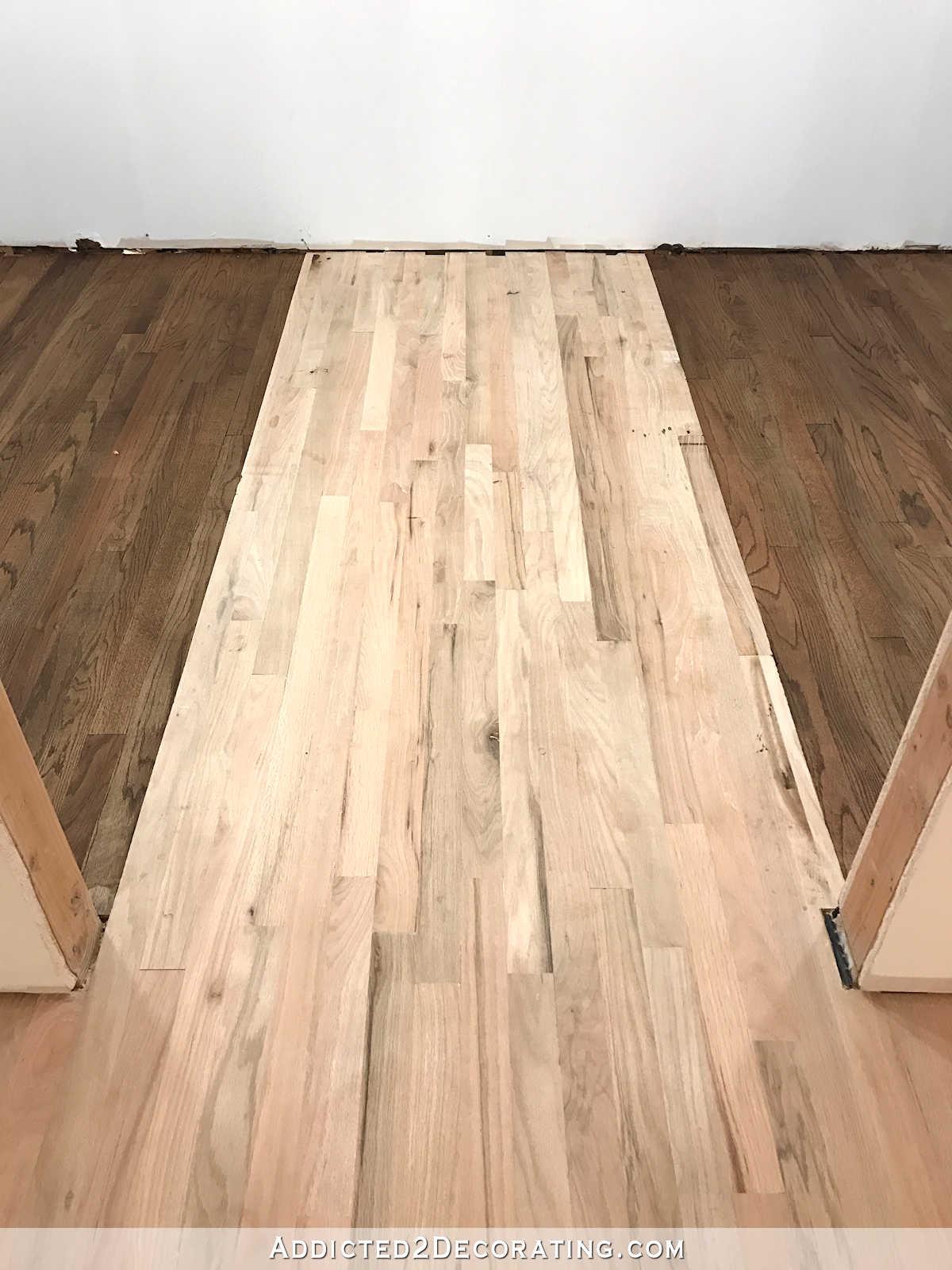 Adventures In Staining My Red Oak Hardwood Floors