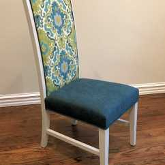 Diy Dining Chairs Makeover Wedding Chair Covers Dundee Breakfast Room  From Neutral To