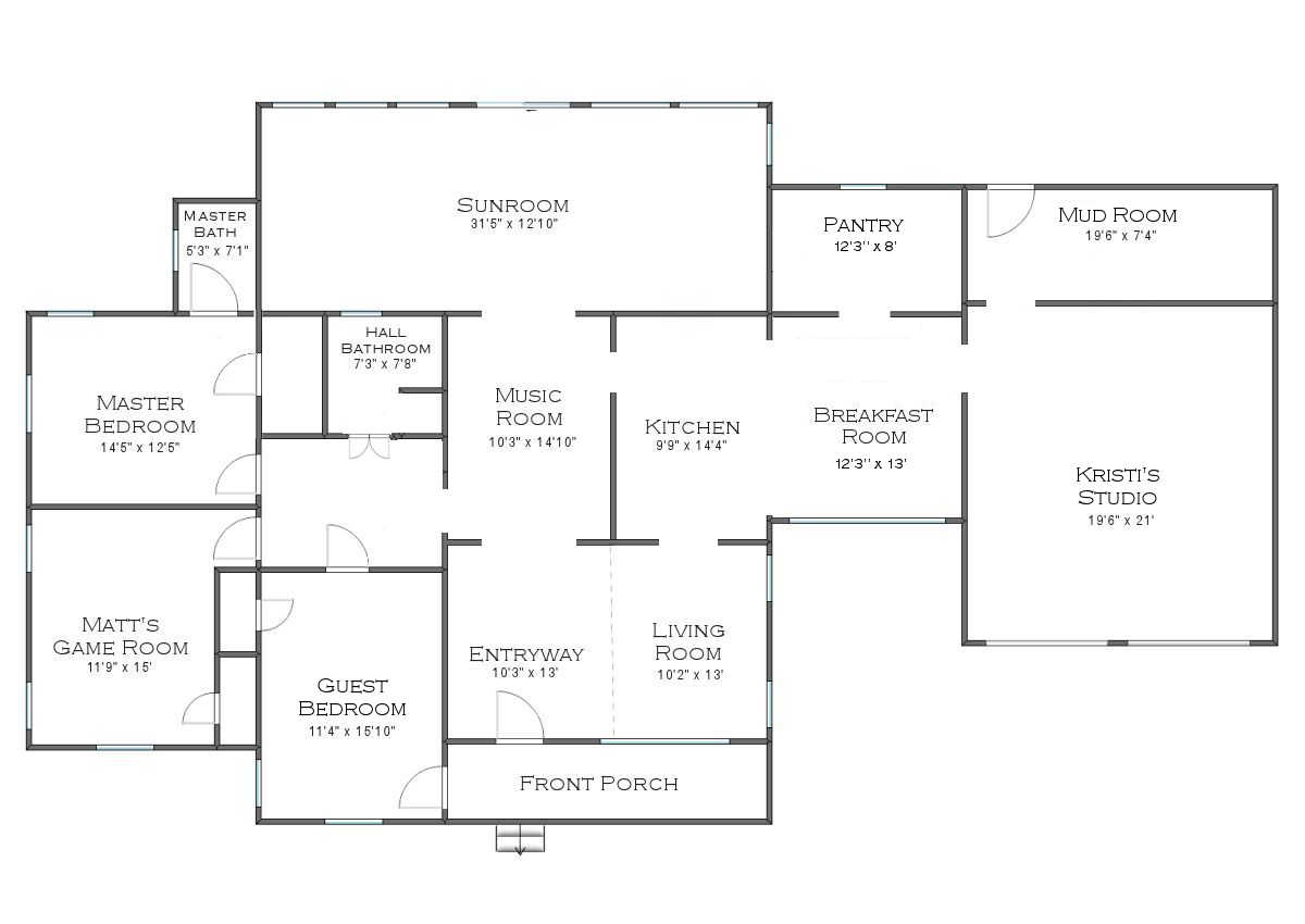 Exciting House News A Change In Floor Plans Addicted