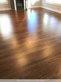 My Newly Refinished Red Oak Hardwood Floors  Addicted 2 ...