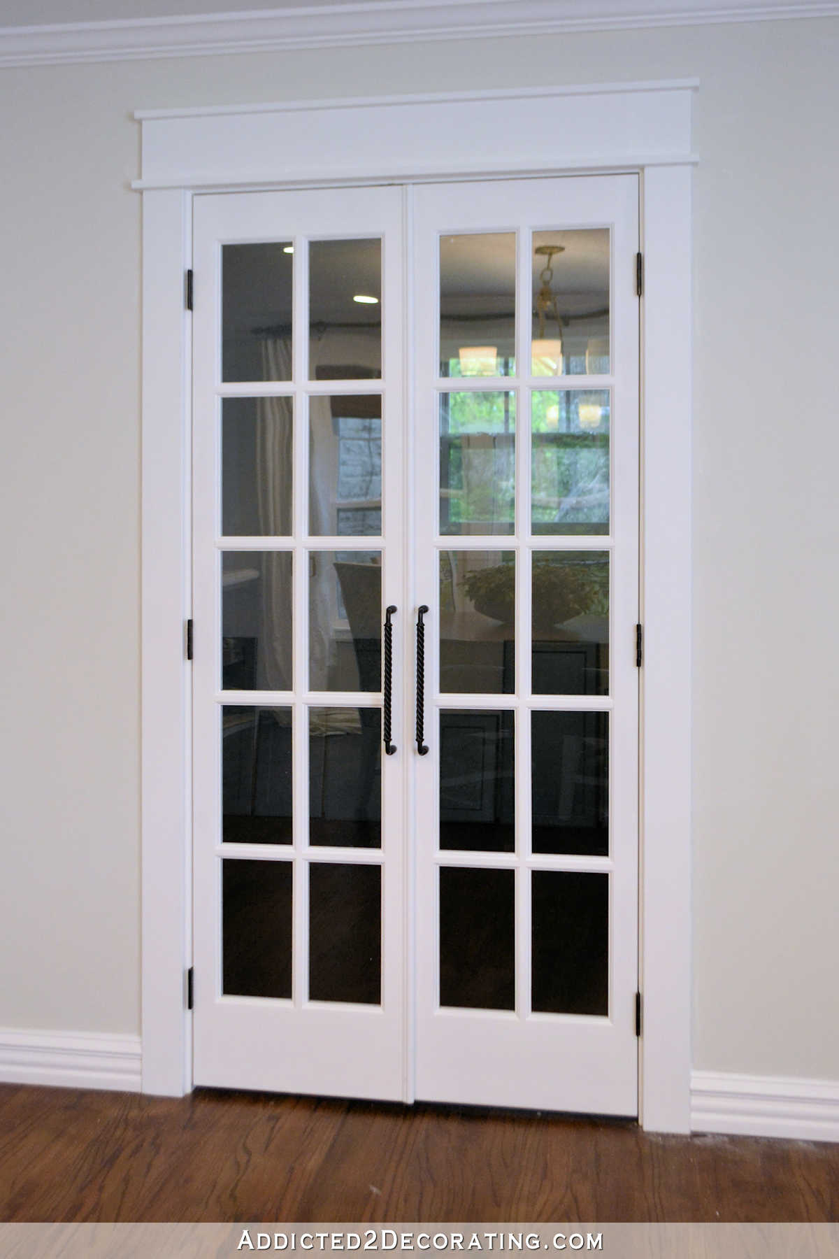 Pantry Doors Finished  Bifold Closet Doors Installed As
