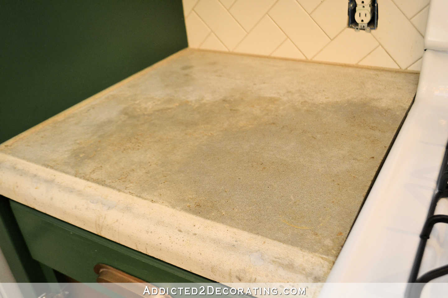 refinishing kitchen countertops accessories my concrete – part 1
