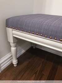 DIY Upholstered Dining Room Bench (Finished!)  How To ...