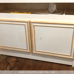 Used Kitchen Cabinet Doors Wall Clocks Simple Diy Make With Basic