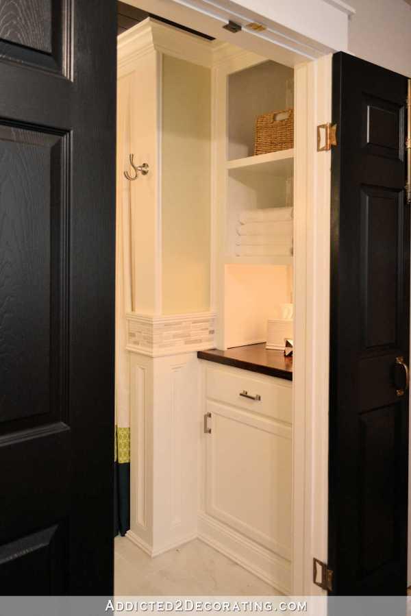Hallway Linen Closet Cabinet Doors