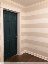 Stripes In The Hallway! (Plus, How To Paint Perfect ...