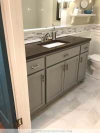 New Hallway Bathroom Vanity Paint Color