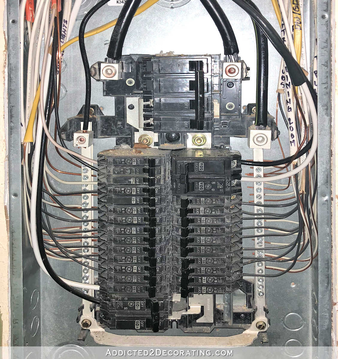 hight resolution of but if you have a relatively new house you ll have a circuit breaker panel mine is located inside the closet in the guest bedroom and it looks like this