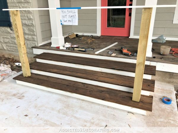 20 Step By Step Build A Front Porch Pictures And Ideas On Weric