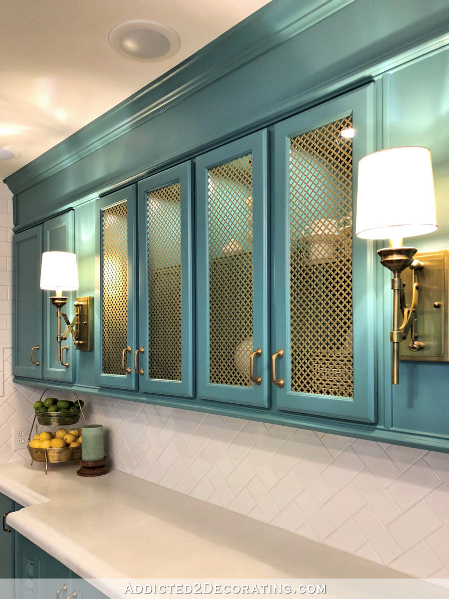 hight resolution of how to add wire mesh grille inserts to cabinet doors the easy and inexpensive way