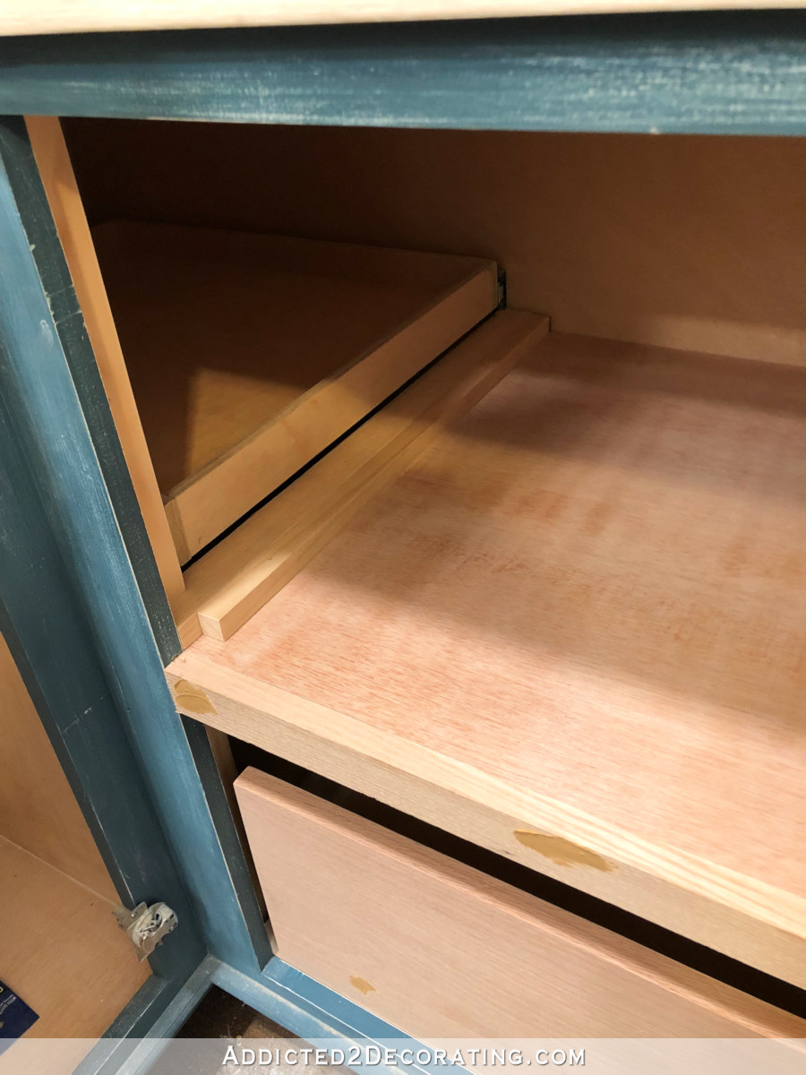 My Final Diy Blind Corner Storage Solution In The Pantry Addicted 2 Decorating