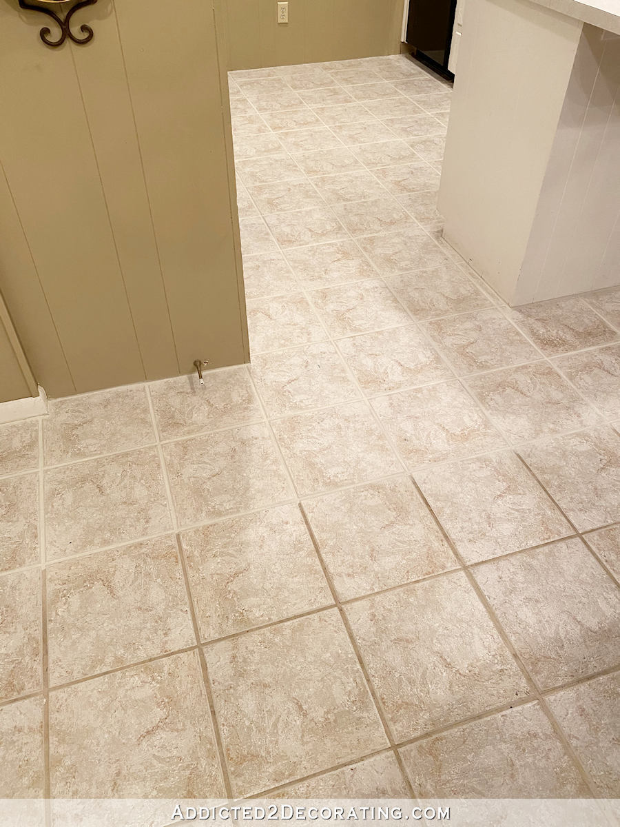 the magic of making old grout look new