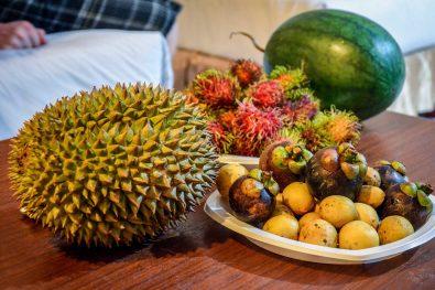 ten z kolcami to durian