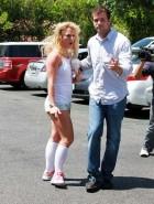 Britney Spears public