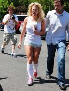 Britney Spears short shorts