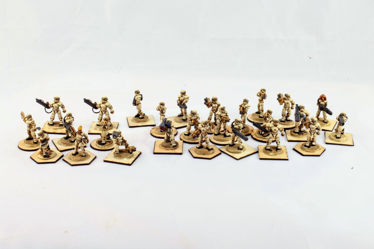 Ground Zero Games 25mm New Swabian League figures.