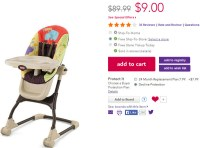 Fisher-Price EZ Clean High Chair only $9.00 SHIPPED (Reg ...