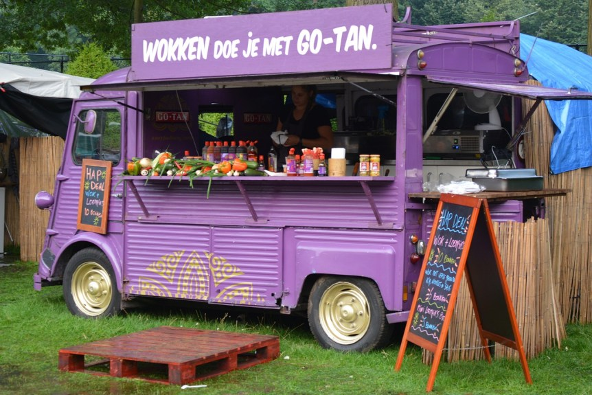 Caisse tactile Food truck