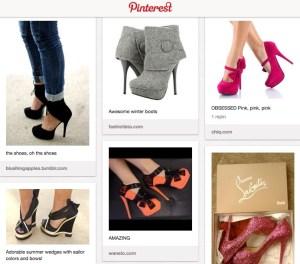 Boutique en ligne Pinterest
