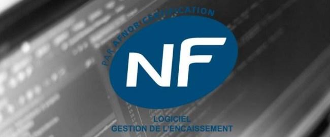 Logo NF525 logiciel caisse et comptabilité
