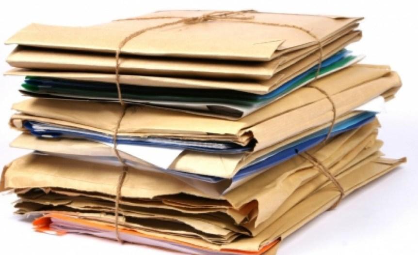 pile de document