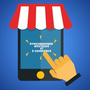 synchroniser boutique e-commerce
