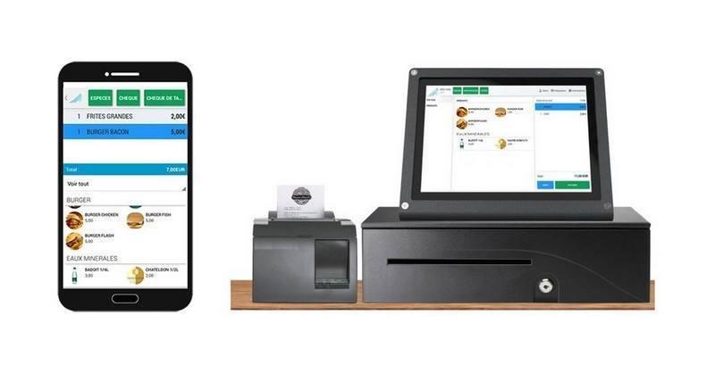 caisse enregistreuse sur Android pour commerce de proximité