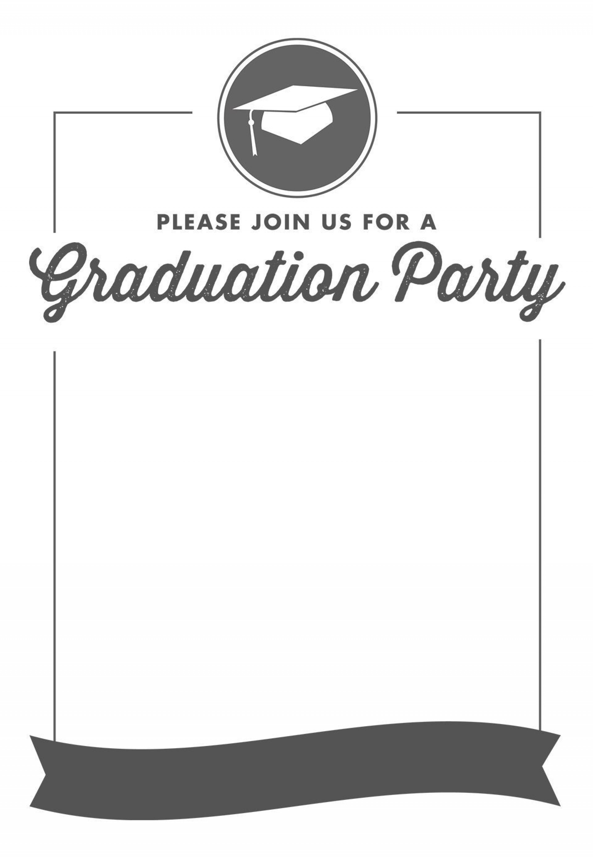 Diy Graduation Announcement Template Free ~ Addictionary