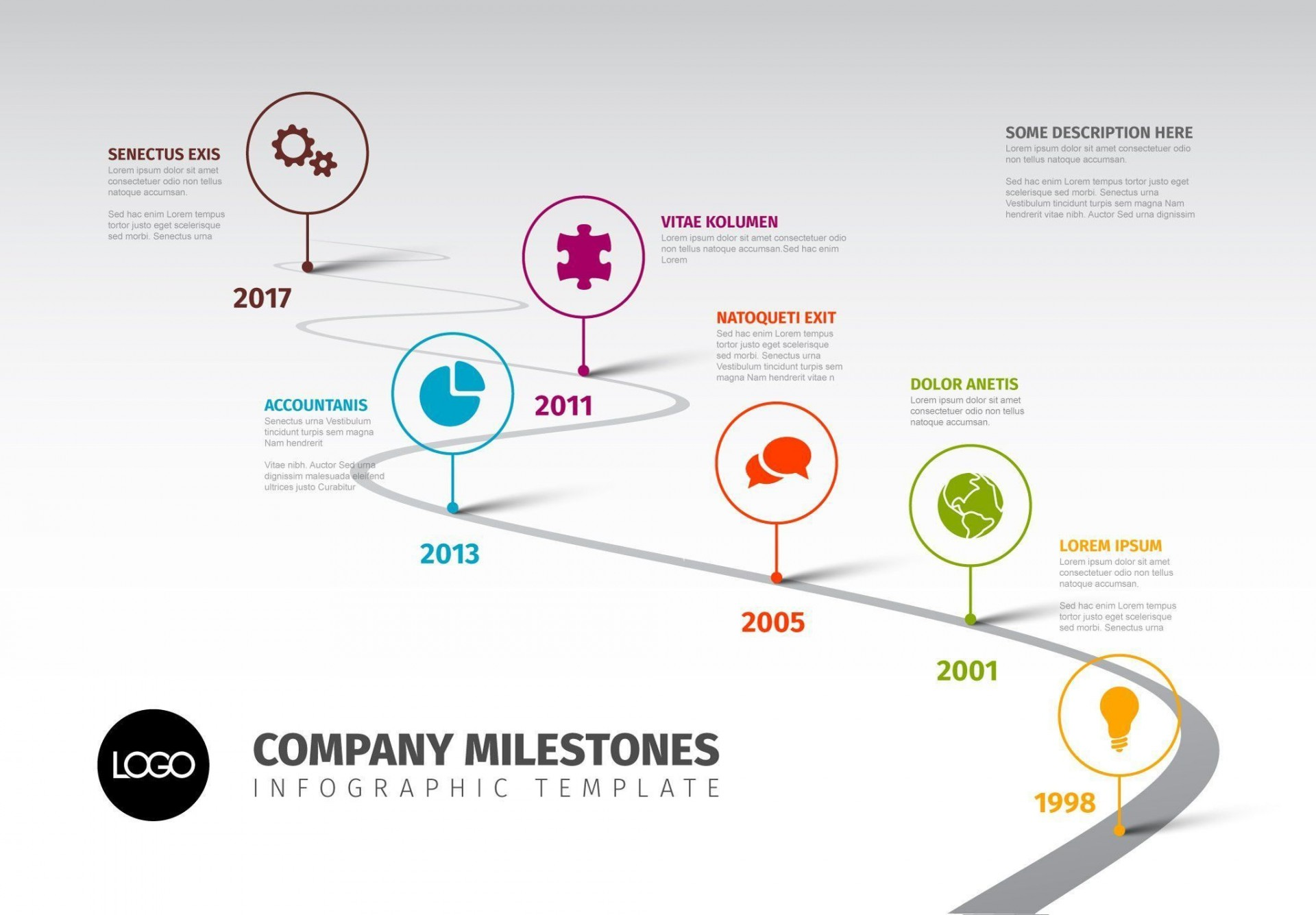 Roadmap Timeline Template Ppt Free ~ Addictionary