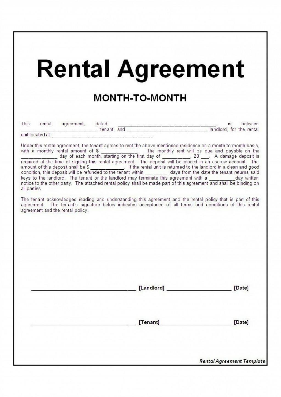 Free Tenancy Agreement Template Word Uk ~ Addictionary
