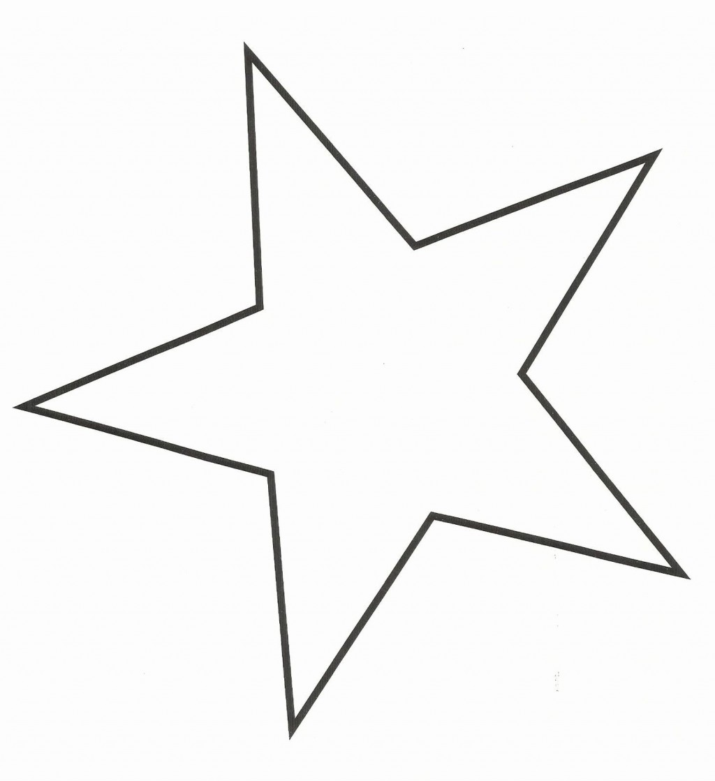 Star Cut Out Templates ~ Addictionary