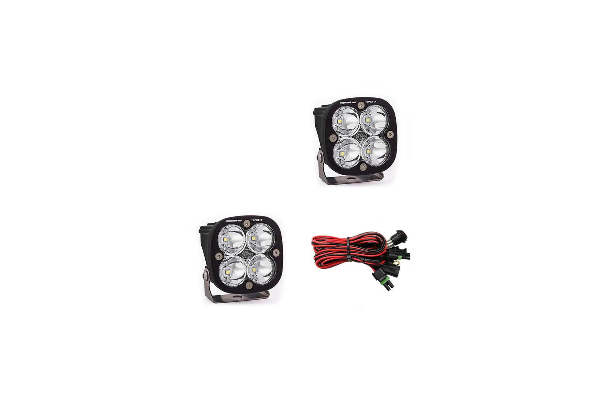 Buy Baja Designs Squadron Sport Spot Led Cube Lights