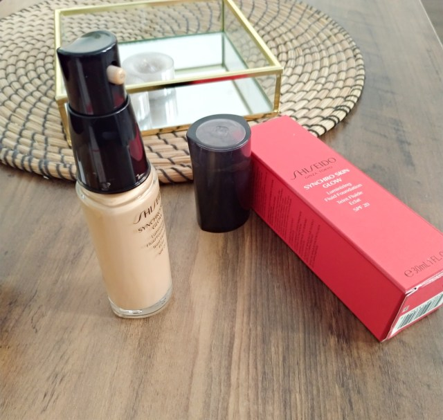 Shiseido - fond de teint synchro skin glow