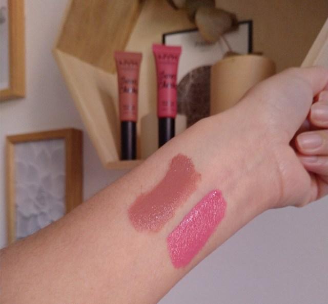 swatch blush sweet cheek nyx cosmetics