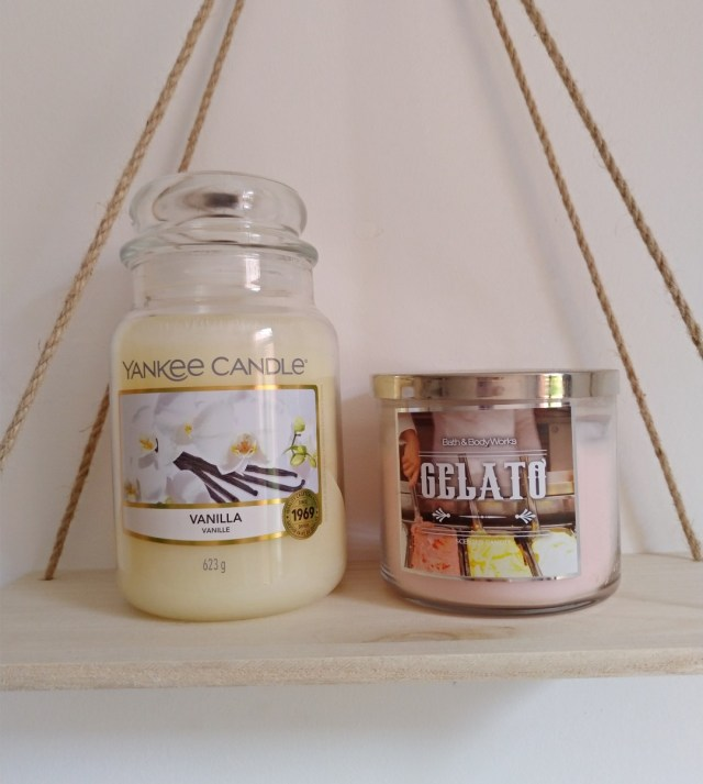 bougie yankee candle vanille notino