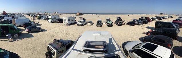 Die Aussicht von unserem Camper
