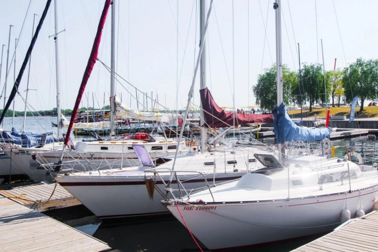 Boats Toronto Waterfront