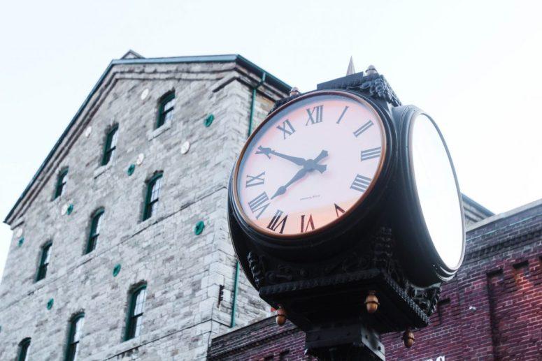Distillery District Toronto Clock