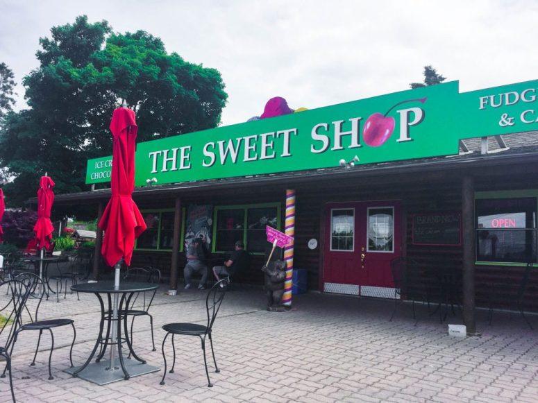 Bruce Peninsula Tobermory Sweet Shop