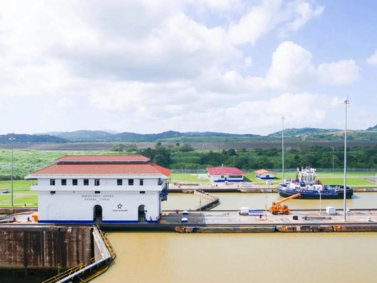 Miraflores Locks Panama Canal Panama City