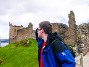 History and Nessie Spotting // Visiting Urquhart Castle