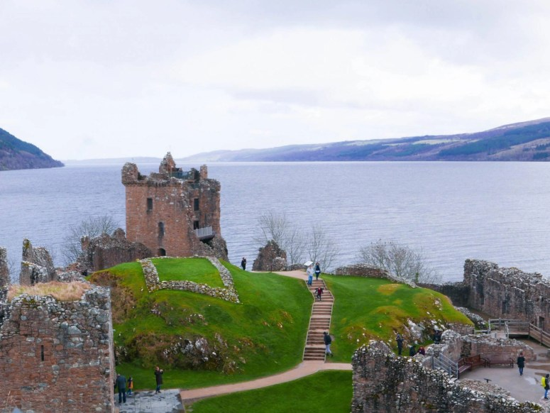 Loch Ness is often seen as Scotland's biggest tourist trap - but it's also incredibly beautiful. Urquhart Castle, on the shores of Loch Ness, is one example of this. Check out this post for a guide on how to visit Urquhart Castle.