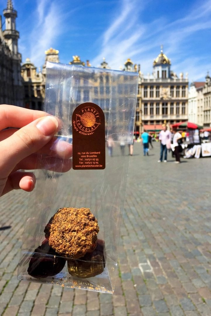 Planete Chocolat Brussels Chocolate Grand Place