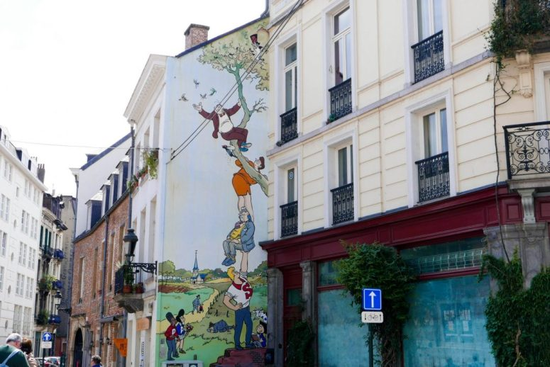 On the Hunt for the Brussels Comic Strip Walls