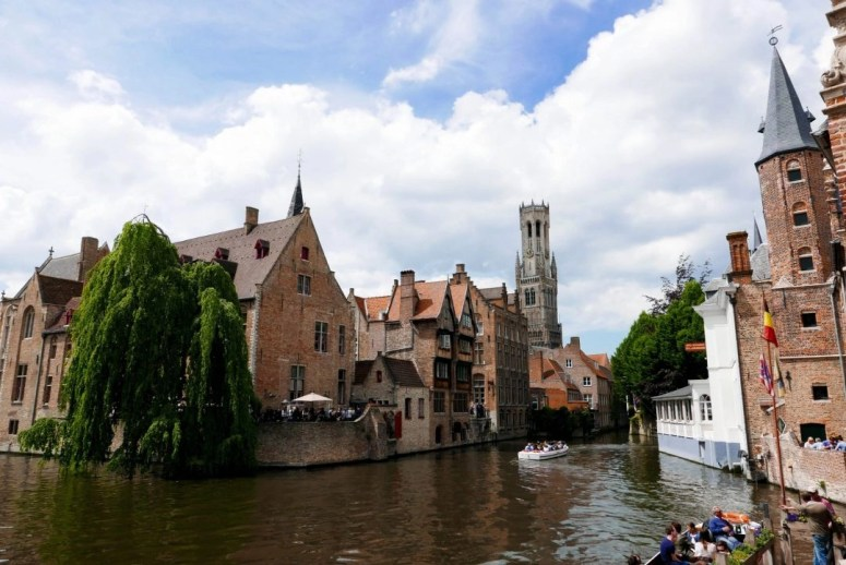 Bruges Canal View