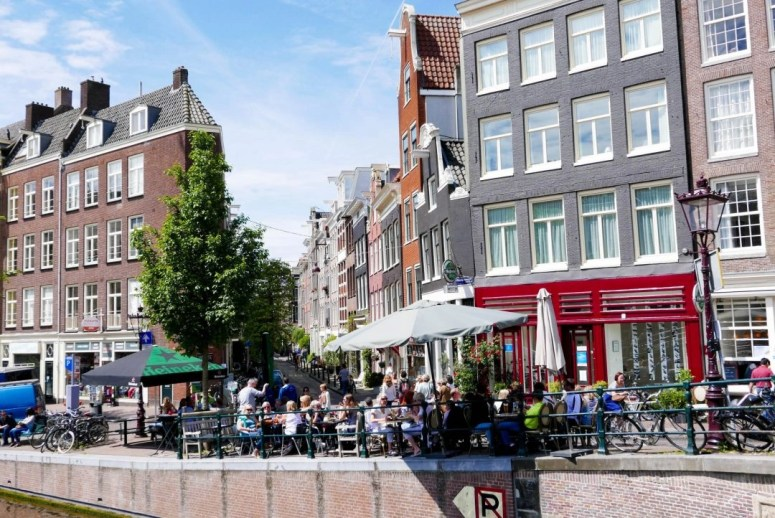 Amsterdam Canalside cafe