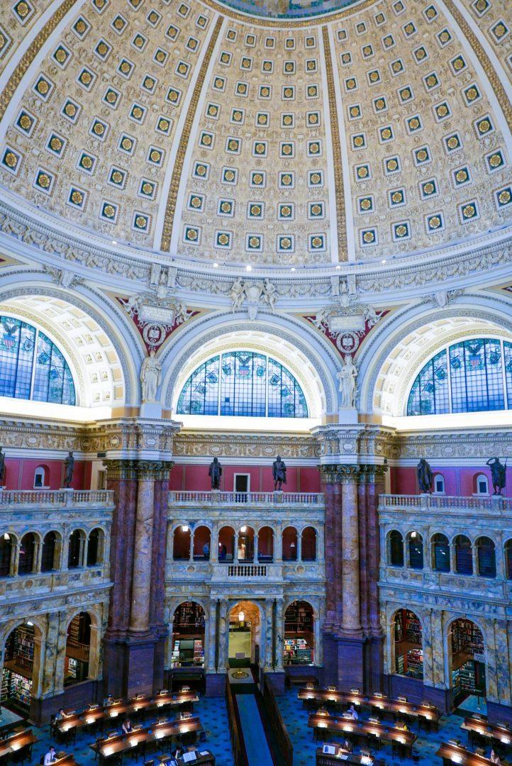 Reading Room Library of Congress, Washington DC