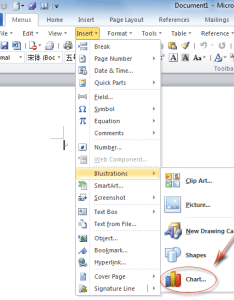 Figure chart feature in word   insert menufigure also where is charting microsoft office and rh addintools