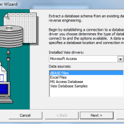 Database Diagram Visual Studio 2013 Wiring Of A Single Phase Dol Starter Where Is Reverse Engineer In Microsoft Visio 2010 And 2016 5 Click It Will Bring Up The Wizard