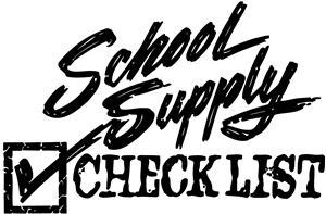 School Supply Lists / Homepage